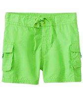 Sunshine Zone Girls' Solid Pocket Boardshort (4yrs-6X)