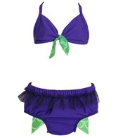 Shebop Beach Girls' Swim Diaper Bikini Set (12-30lbs)