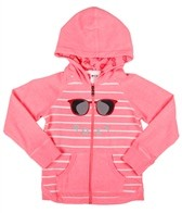 Roxy Girls' Beach Air Zip Hoodie (4-7)