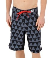 Hawaiian Island Creations Men's Shark Pit Boardshort