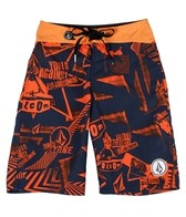 Volcom Boys' 45th St Boardshort (8-20)