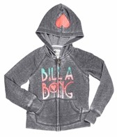 Billabong Billie Girls Stamped Zip Hoodie (4-16)