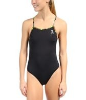 TYR Camo Star Solid Crosscutfit w/ Printed Binding