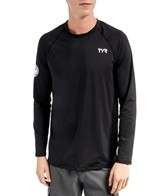 TYR Men's Long Sleeve Swim Shirt