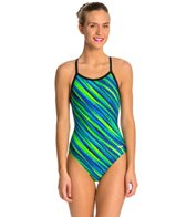 Dolfin Winners Luna V-2 Back Prints One Piece