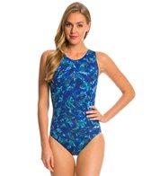 Dolfin AquaShape Moderate Bali Print Lap Suit