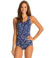 Dolfin AquaShape Conservative Bali Print Lap Suit
