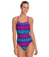 Waterpro Jungle Thin Strap One Piece Swimsuit
