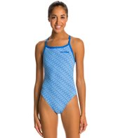 Arena Diamonds Challenge Back One Piece Swimsuit