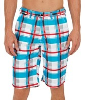 FOX Men's Hyrdoessex Plaid Hybrid Short