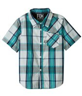FOX Boys' Denton Short Sleeve Woven Shirt (8-20)