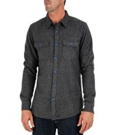 Quiksilver Men's Fuzzy Goggles Long Sleeve Flannel