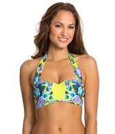 Seafolly Bella Rose Bandeau Bustier Bikini Top