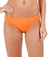 Tommy Bahama Pearl Solid Side Shirred Hipster Bikini Bottom