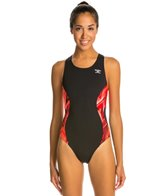 The Finals Onyx Super V-Back Splice One Piece Swimsuit