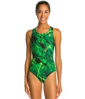 The Finals Amethyst Super V-Back One Piece Swimsuit