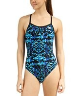 The Finals Aztec Butterfly Back One Piece Swimsuit