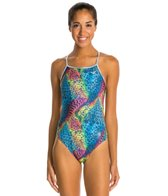 The Finals Funkies Jungle Wing Back One Piece Swimsuit