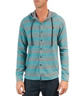 Billabong Men's Slammer Long Sleeve Hooded Flannel