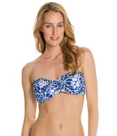 Jag Swimwear South Pacific Bandeau Bra Bikini Top