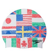 Speedo World Tour Silicone Swim Cap