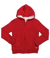 Roxy Girls' A Chance Storm Zip Hoodie (7-16)