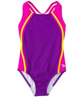 Speedo Girls' Sport Splice One Piece (7yrs-16yrs)