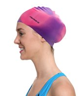 Sporti Long Hair Silicone Swim Cap