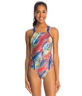 Speedo Color Wave Volt Back