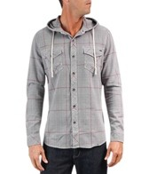 Reef Men's Greenbush L/S Hooded Shirt