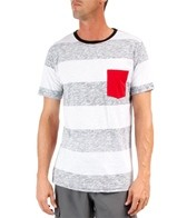 Reef Men's Cool-E-O Stripe S/S Tee