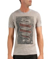 Hurley Men's Sagrada Serpiente Burnout Premium S/S Tee