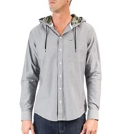 Hurley Men's Ace Hooded L/S Oxford