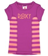 Roxy Girls' Doll Face Escape S/S Rashguard (4-7)