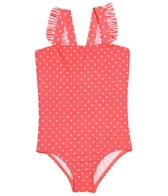 Roxy Girls' Doll Face Ruffle One Piece (2-6)