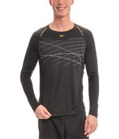 Mizuno Men's Venture Long Sleeve Running Shirt