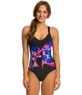 Arena Aquafit Blur One Piece Swimsuit