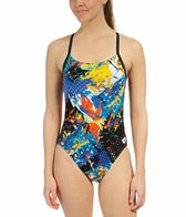 Arena Carioca Challenge Back One Piece Swimsuit