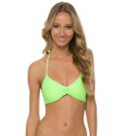 L-Space Sensual Solids Strap Back Bikini Top