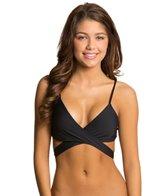 L-Space Sensual Solids Chloe Wrap Bikini Top