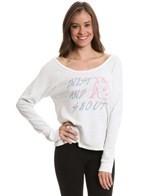 Yoga Glyphs FlashDance Sweatshirt