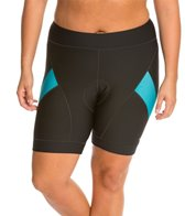 Shebeest Women's Pro Splice Solid Plus Size Cycling Short