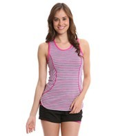 MPG Women's Interval Space Dye Striped Running Tank