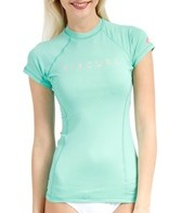 Rip Curl Women's Sunset Beach Cap Sleeve Rashguard