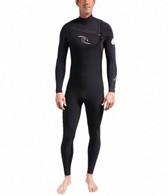 Rip Curl Men's Dawn Patrol 4/3mm Chest Zip Fullsuit Wetsuit GB
