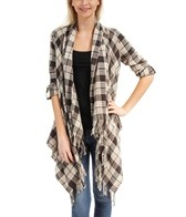 Billabong Staple Luv Flannel Cardigan