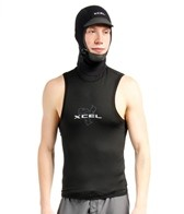 Xcel Men's Polypro Hooded Vest