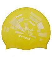 Orca Printed Silicone Swim Cap