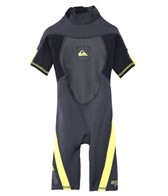 Quiksilver Boys' 2/2MM Syncro Back Zip Spring Suit Wetsuit
