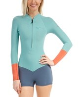 Roxy Women's 2MM K Meador Front Zip L/S Spring Suit